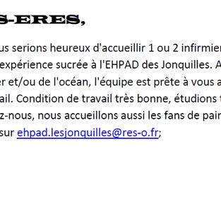 Infirmiers - Ehpad Les Jonquilles à Toulouse (31)