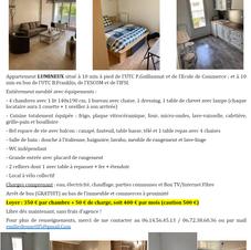Colocation 4 chambres - Compiègne