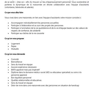 Assistant Educatif Interne CDI - Cuise-la-Motte (60)