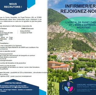 Infirmiers - Groupe hospitalier Sophia Antipolis - Vallée du Var (06 et 04)