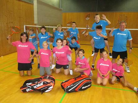 Gelungene Badminton Camp Premiere