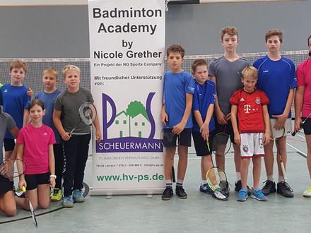 Herbstferien Badminton Camp in der FES Lörrach