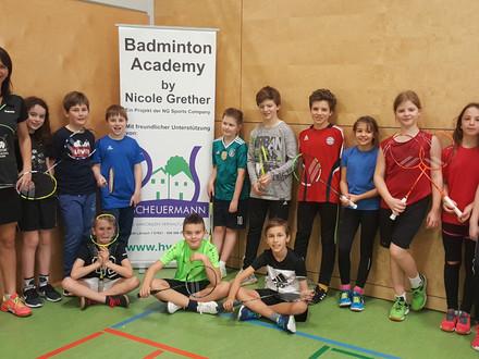 Neujahrs-Badminton Camp in Weil am Rhein