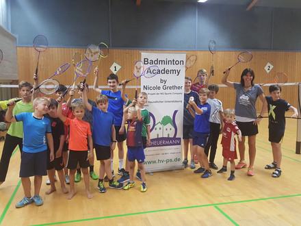 Jede Menge Spaß beim Boys Summer Camp in Lörrach
