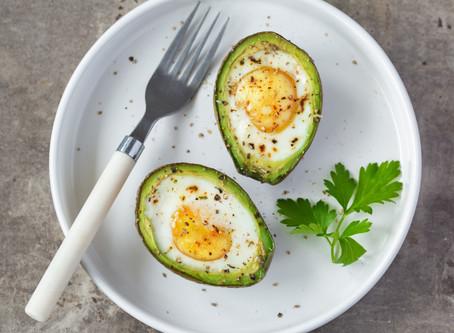 Baked Avocado & Egg Boat Recipe