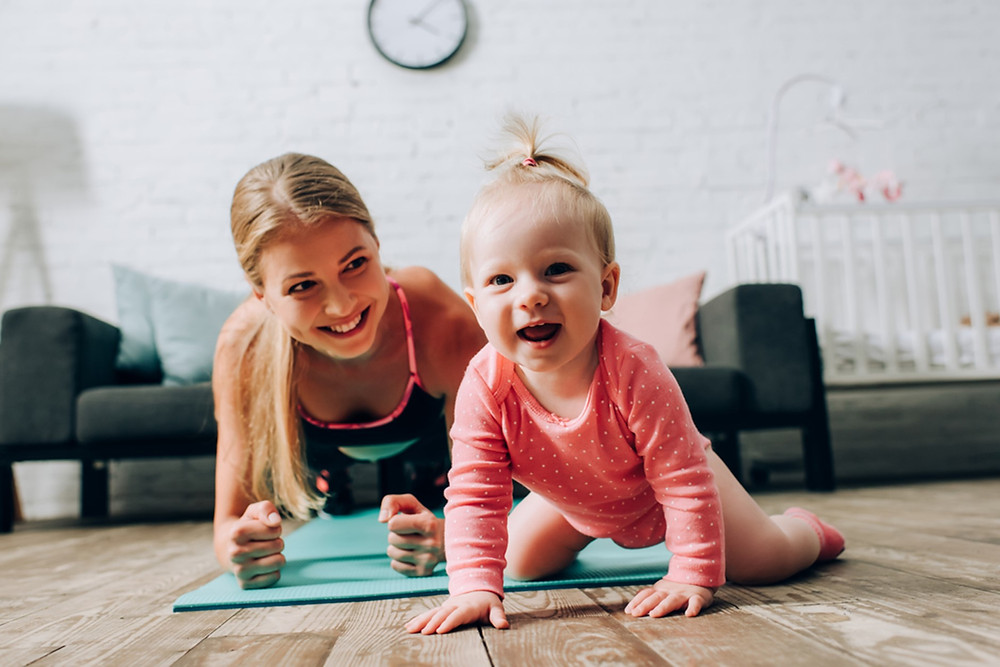 finding time to exercise working mom