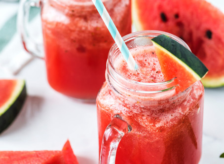 Cool Melon Slush Mocktail Recipe
