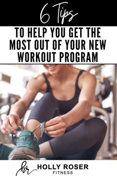 6 tips for workout plan