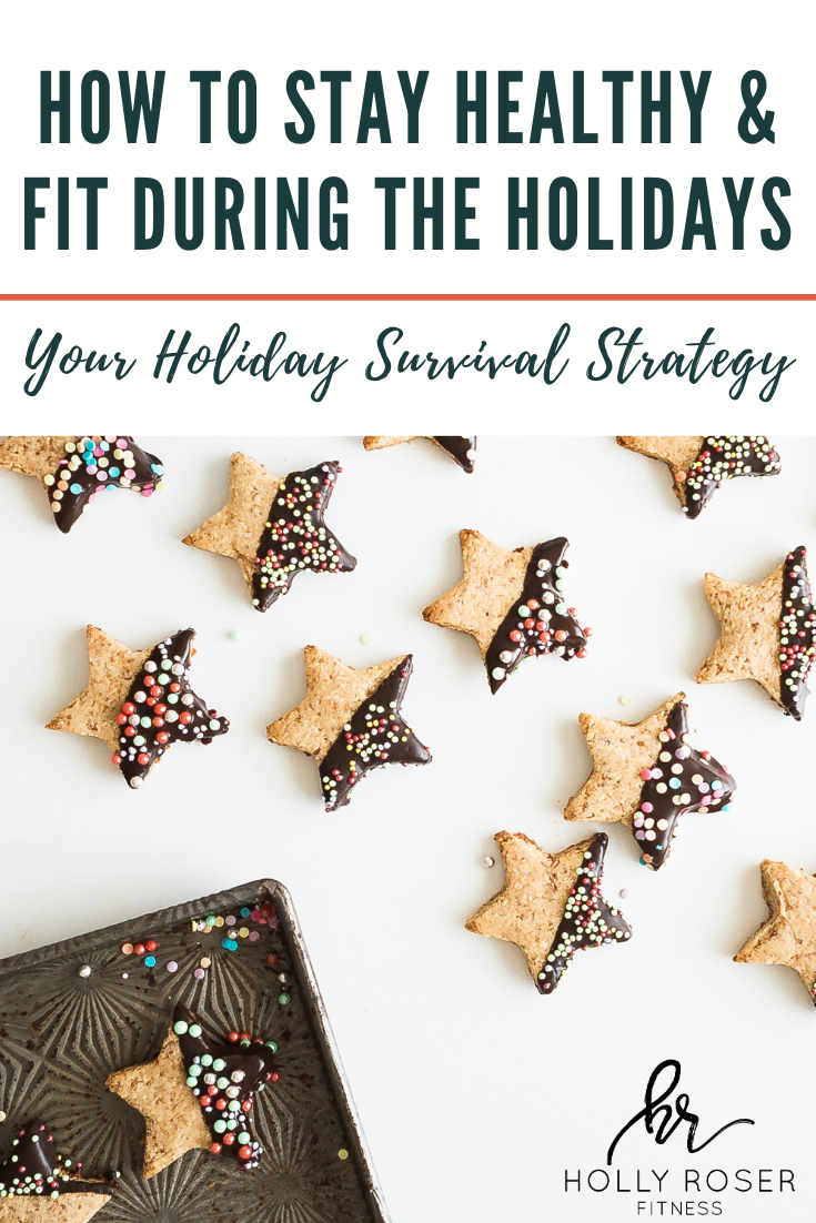 How to Stay Healthy & Fit During The Holidays; Your healthy holiday survival guide