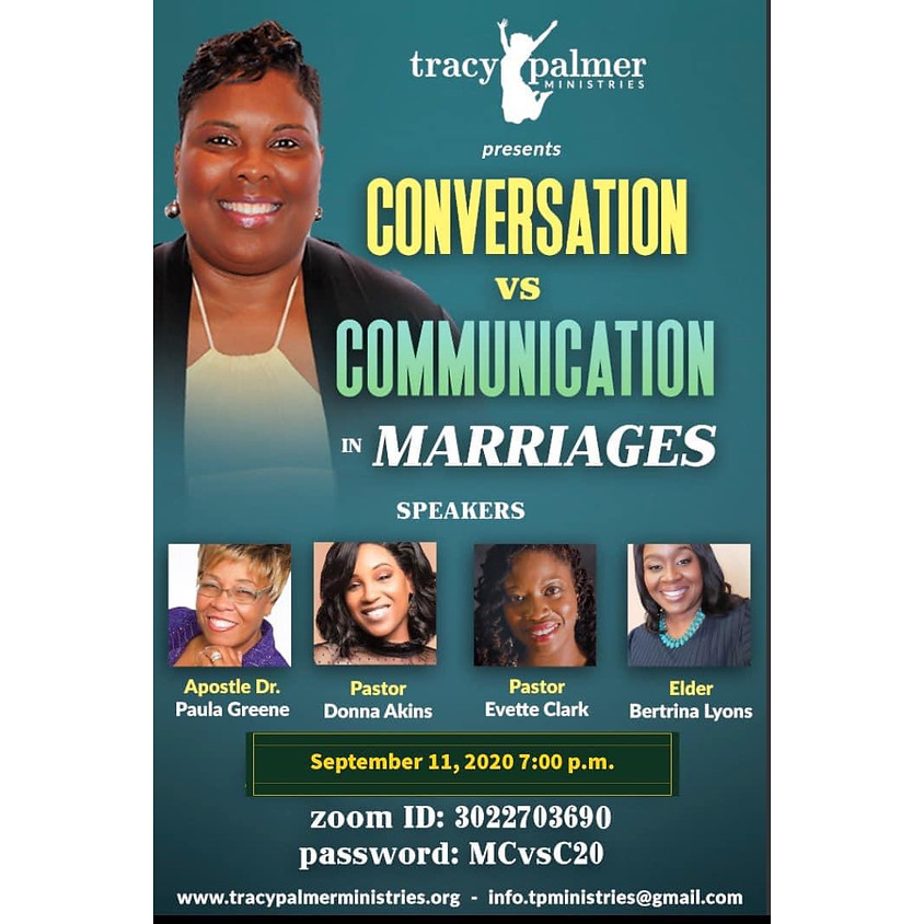Conversation Vs Communication in Marriages