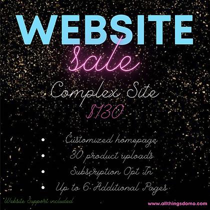 Deluxe Website