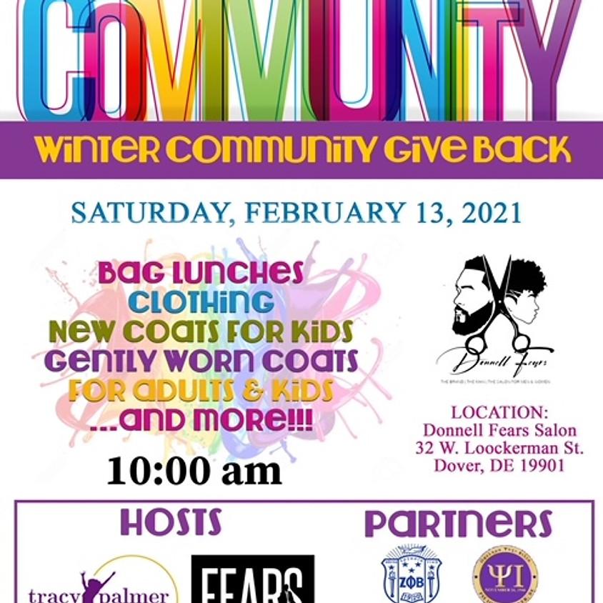 Winter Community Give Back