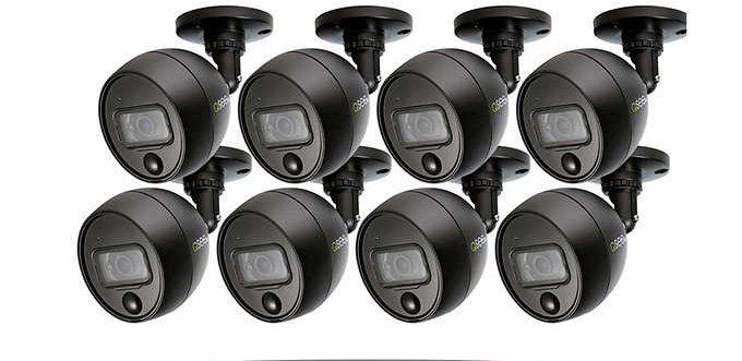 Q-See 8X8 DVR 1TB Security System W/ 8-1080P Cameras