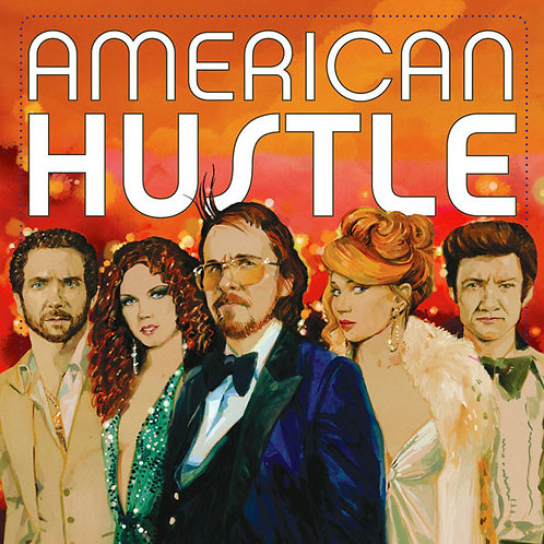 American Hustle (Original Motion Picture Soundtrack) [Red & Blue Vinyl] [2LP]