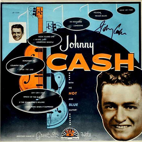 Johnny Cash ‎– With His Hot and Blue Guitar [LP]