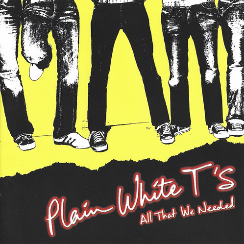Plain White T's – All That We Needed [Opaque Red Vinyl] [LP]
