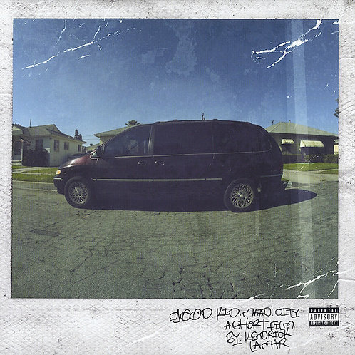 Kendrick Lamar ‎– Good Kid, M.A.A.d City [2LP]