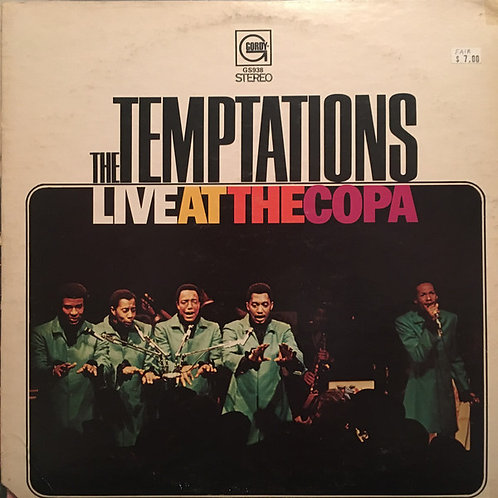 The Temptations - Live at the Copa [LP]
