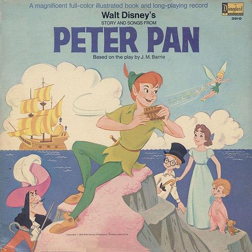 Peter Pan with Story Book [LP]
