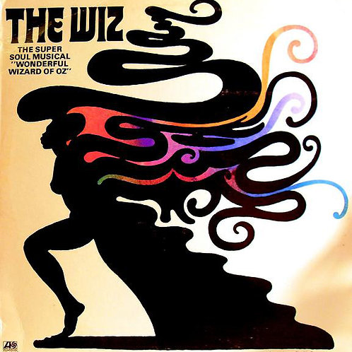 """The Wiz - The Super Soul Musical """"Wonderful Wizard of Oz"""" [LP]"""