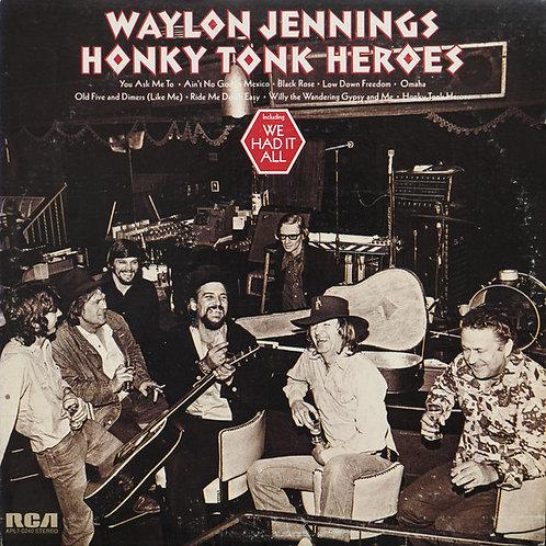 Waylon Jennings - Honky Tonk Heroes [LP]