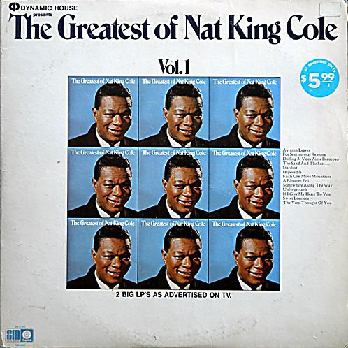 Nat King Cole - The Greatest of Nat King Cole Vol. 1 & Vol. 2 [2LP]