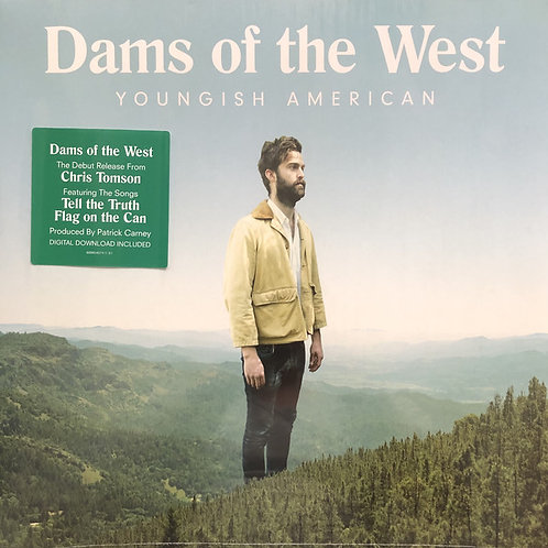 Dams of the West – Youngish American [Clear on White and Blue Vinyl] [LP]