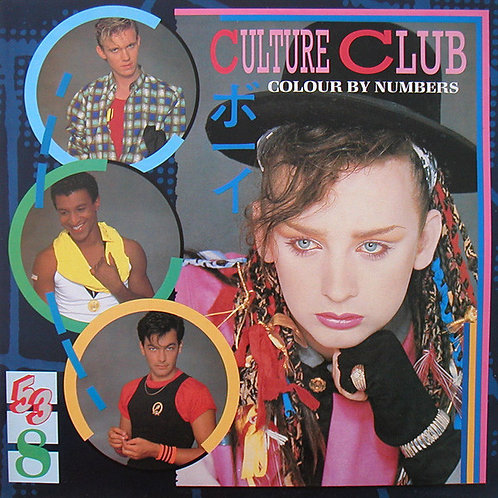 Culure Club - Colour by Numbers [LP]