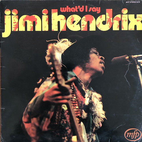 Jimi Hendrix ‎– What'd I Say [LP]