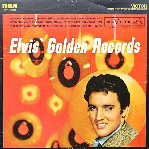 Elvis Presley ‎– Elvis' Golden Records [LP]