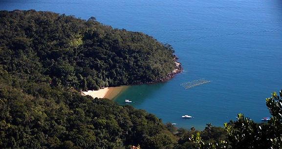 vista Praia Abraaozinho (Ilha Grande)