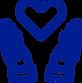 donate icon blue