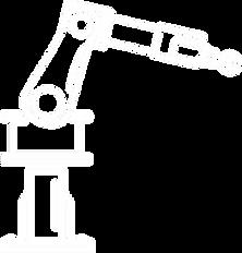 robot arm in gradient background