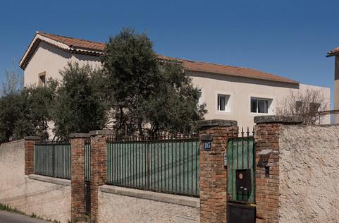 4 logements collectifs + 1 maison individuelle