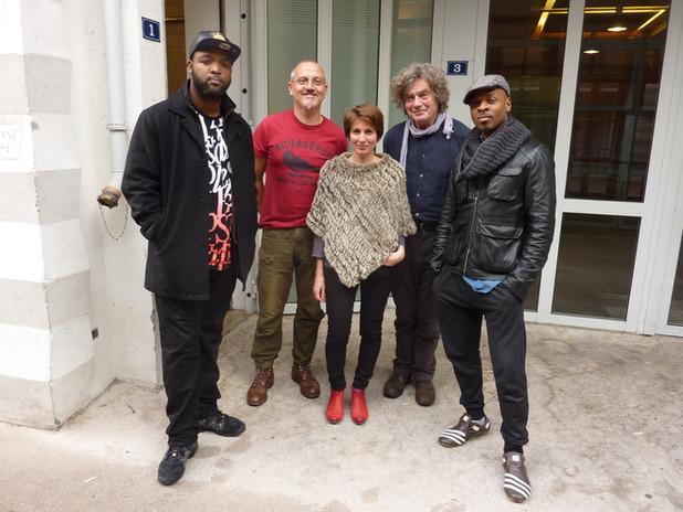 studio avec Ursus Minor, 2016