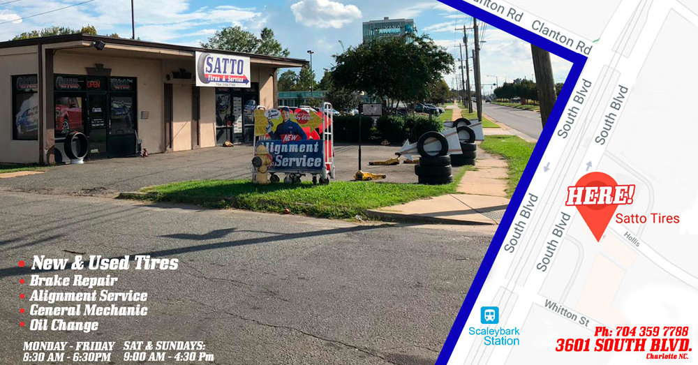 1 Used Tires Charlotte Nc Satto Tires Service