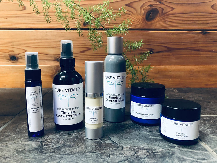 Timeless Face Care Line