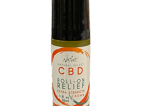 New Product Alert: Natural Native CBD Relief Roller