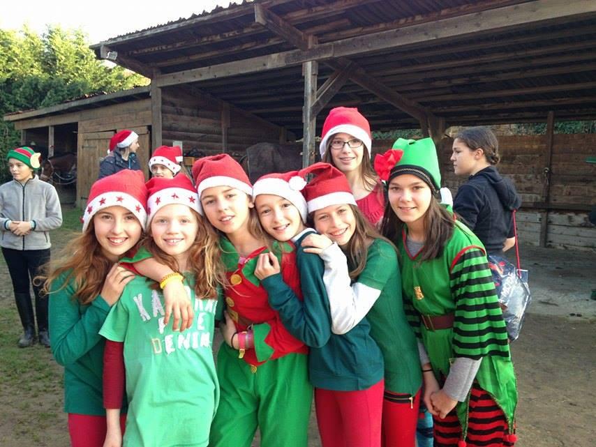 Noël à la Giraudière