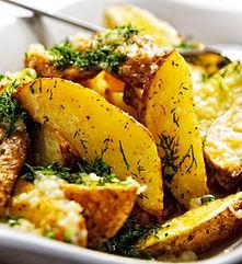 fatias de batata