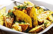Potato Wedges mit Kräutern