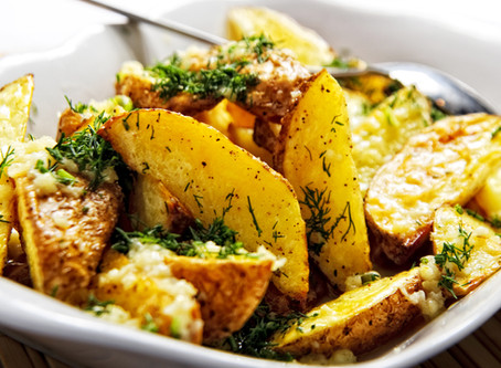 Ароматный картофель фри в духовке