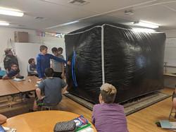 'Outside the Box' Math Lesson