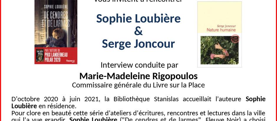 Rencontre avec Serge Joncour :  RENCONTRE ANNULÉE