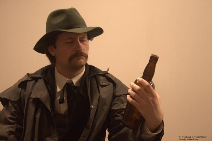 """As Wyatt Earp in """"Horse Opera"""" (2018)"""