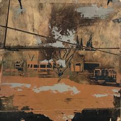 Michal Geva, The Big Grass, 2018, Acryli