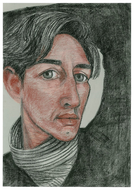 self-pencil-pastel-and-charcoal-on-pape