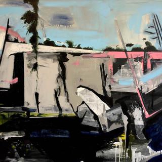 untitled,2019,acrylic on canvas,122x152c