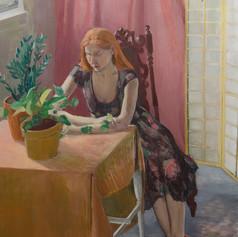 Ariel. 2013, Oil on canvas, 152x122 cm..