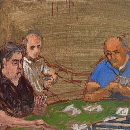 Uta Patinkin, The Card Players 12, 2019